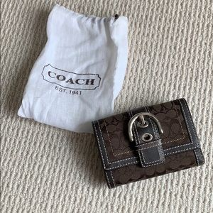 Coach wallet, like new, barely used